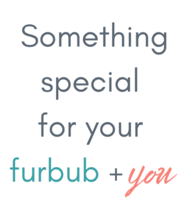 Something special for your furbub + you